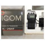 ICOM IC-2SAT 144MHZ FM TRANSCEIVER