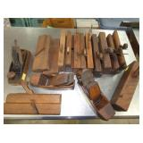 sev early wooden block planes