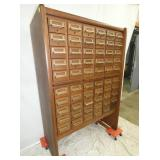 VIEW 2 60 DRAWER CARD FILE
