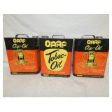 NOS DARF TOBAC-OIL CANS
