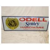 24X72 ODELL SENTRY HARDWARE SIGN