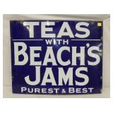 24X30 PORC. TEAS W/ BEACHS JAMS