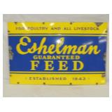 21X33 PORC. ESHELMAN FEED SIGN