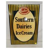 20X28 SOUTHERN DAIRIES ICE CREAM SIGN