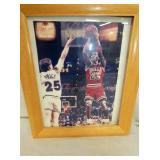 SIGNED MICHAEL JORDAN PHOTO