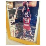 VIEW 2 8X10 SIGNED MICHAEL JORDAN
