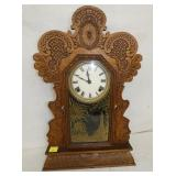 OAK KITCHEN CLOCK