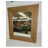 24X28 GOLD GILDED MIRROR