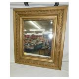 27X31 GOLD GILDED MIRROR