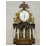 UNUSUAL ORNATE MANTEL CLOCK
