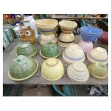 COLLECTION EARLY STONEWARE BOWLS