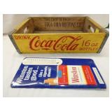 COCA COLA 16OZ CARRIER,WINSTON THERM.