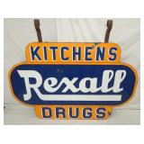 48X72 PORC. REXALL KITCHENS/DRUGS