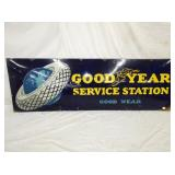 24X72 PORC. GOODYEAR STATION SIGN
