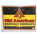 18X24 PORC. OLD AMERICAN SHINGLES SIGN