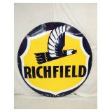 6FT. PORC. RICHFIELD 1953 SIGN
