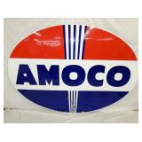 60X84 1958 PORC. AMOCO SIGN