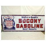45X116 PORC. SOCONY GASOLINE SIGN