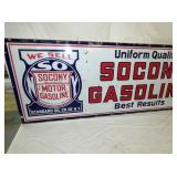 VIEW 3 SOCONY GASOLINE SIGN