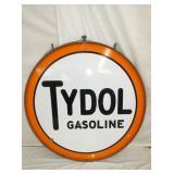 48IN PORC TYDOL GASOLINE W/ FRAME
