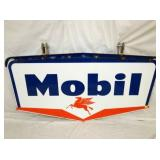30X59 PORC 1959 MOBIL OIL SIGN