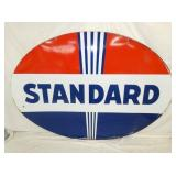 60X84 PORC STANDARD OIL SIGN