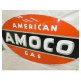 VIEW 4 CLOSEUP AMERICAN AMOCO PORC SIGN
