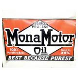 VIEW 2 OTHERSIDE MONA MOTOR OIL SIGN