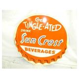 36IN SUN CREST BEV. CAP SIGN