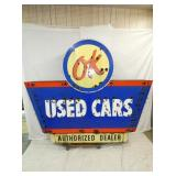 RARE 75X96 PORC OK USED CARS