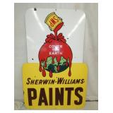 40X60 PORC SHERWIN WILLIAMS PAINTS SIGN