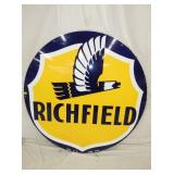 5FT. PORC RICHFIELD SIGN