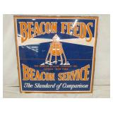 37X37 BEACON SERVICE FEEDS SIGN