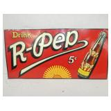 18X36 EMB. 5CENT R PEP SIGN