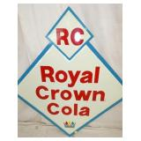 VIEW 2 CLOSEUP DIE CUT ROYAL CROWN COLA