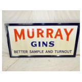 36X72 PORC. MURRAY GINS SIGN