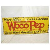 36X96 PORC WOCO PEP SIGN