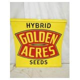 47IN GOLDEN ACRES SEEDS SIGN