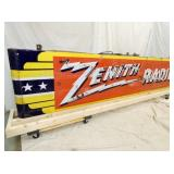 VIEW 5 LEFT SIDE ZENITH RADIO CAN SIGN
