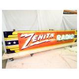 VIEW 7 28X144 ZENITH RADIO NEON