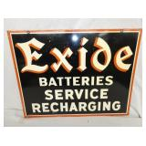 VIEW 4 CLOSEUP SIDE 2 EXIDE SIGN