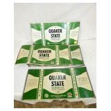SEV. 9X20 QUAKER STATE CAN SIGNS