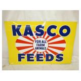 24X36 TIN KASCO FEEDS SIGN