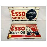 10X18 1939 ESSO MOTOR OIL SIGNS