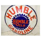 VIEW 2 GLOCEUP HUMBER GASOLINE OIL SIGN