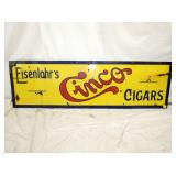 18X60 PORC. CINCO CIGARS SIGN