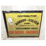 VIEW 2 OTHERSIDE GM DIESEL ENGINES SIGN