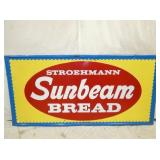 36X72 EMB. SUNBEAM BREAD SIGN