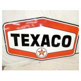 55X86 PORC 6 SIDED TEXACO SIGN