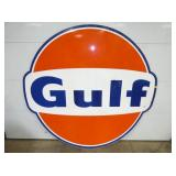 6FT. PORC GULF DOG EAR SIGN